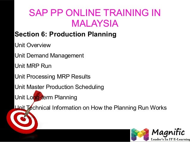 production planning exercise The tutorial is aimed at spreadsheet literate people who are involved in planning and scheduling production activities the techniques and formulas set out in this tutorial are being used by manufacturing companies daily this is a practical, not an academic, exercise.