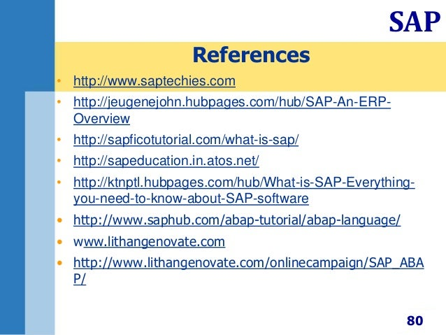 Sap business one ppt.