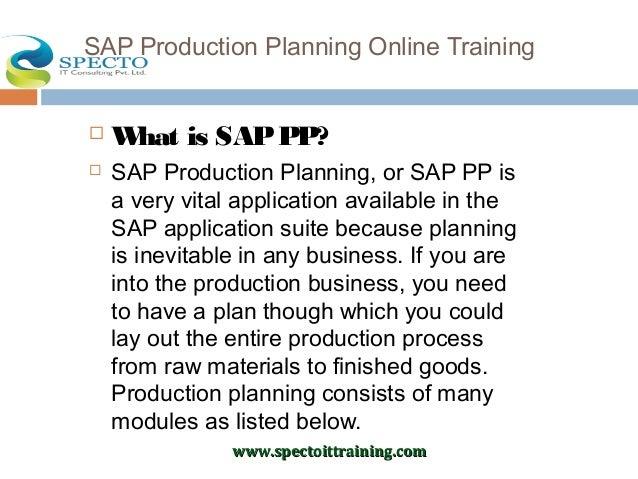 SAP Online Training in Hyderabad | Best Institute for SAP ...