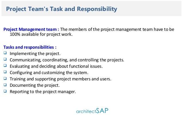 setting up the program organization 8