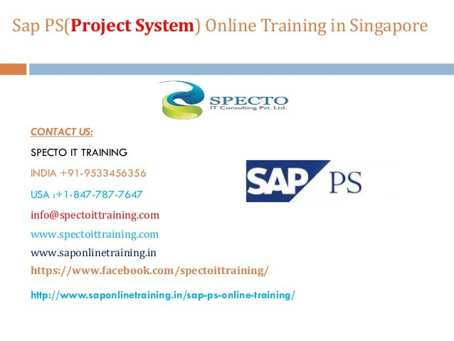 Sap ps(project system) online training | sap ps online ...