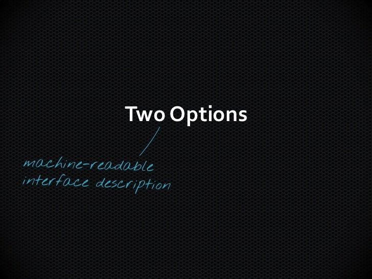 Two Options
