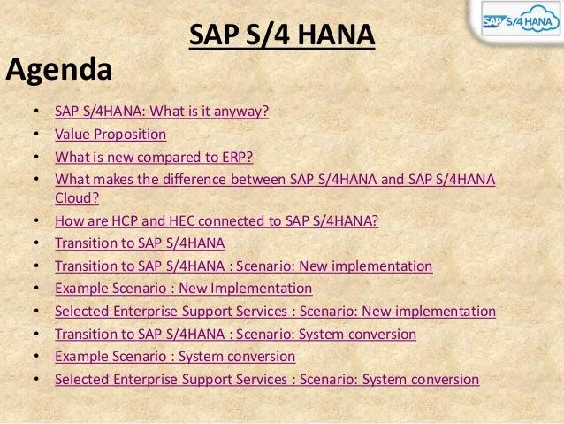 Sap S/4 HANA New Implementation Slide 2