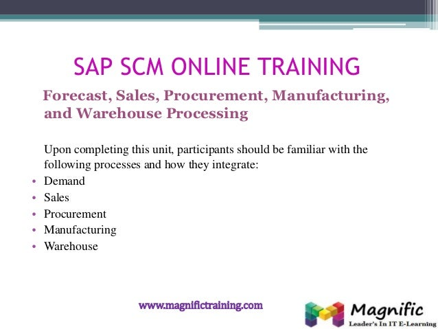 Sap scm erp procurement certification course in online training