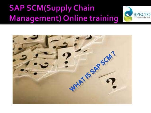 sap scm supply chain management online training in usa. Black Bedroom Furniture Sets. Home Design Ideas