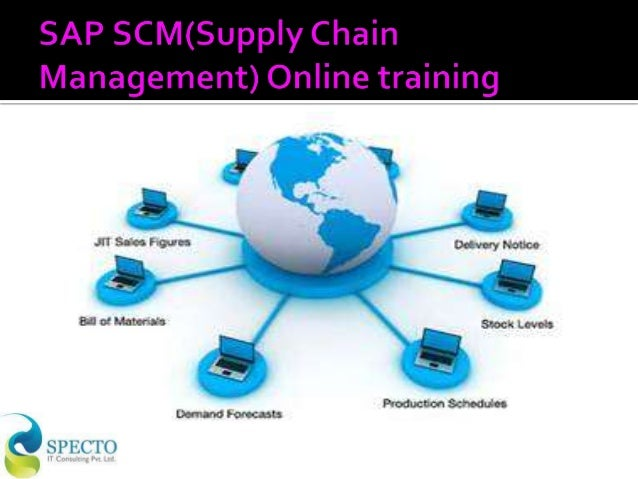 Sap scm(supply chain management) online training in usa