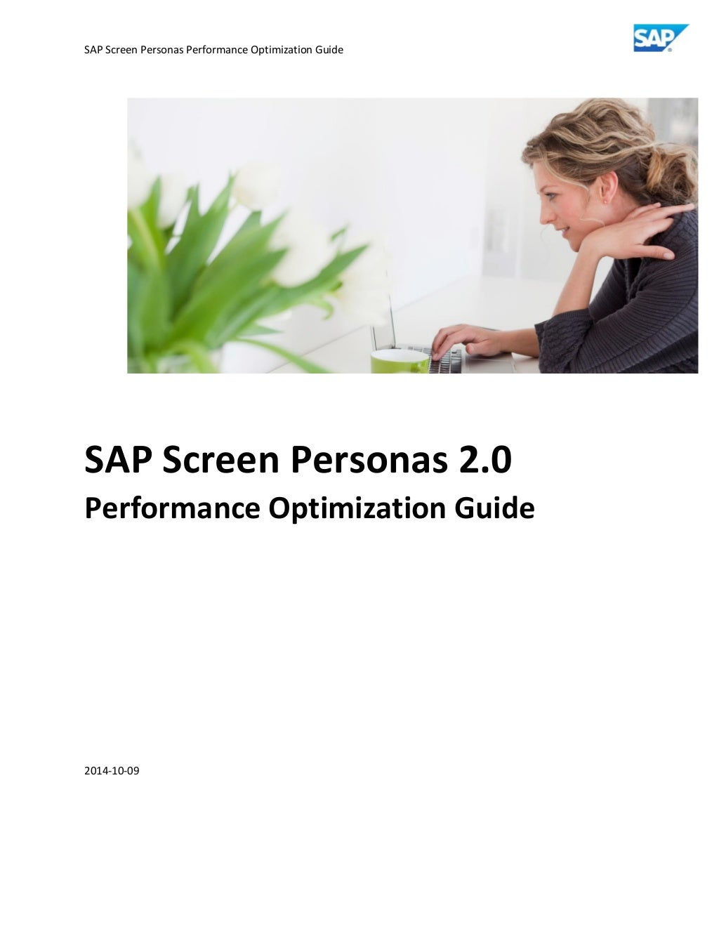 Sap screen personas performance optimization guide v0.96