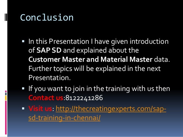 SAP Training in Chennai – SAP Training in Chennai