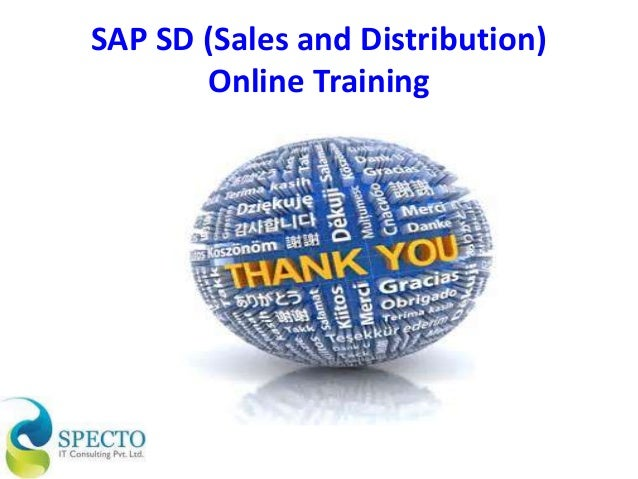 sap sales and distribution Preface 16 the book starts out with a general intr oduction to sap logistics processes and sales and distribution, and quickly moves on to the main processes: pre-sales.