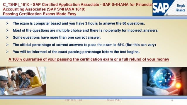 SAP Simple Finance certification Exam