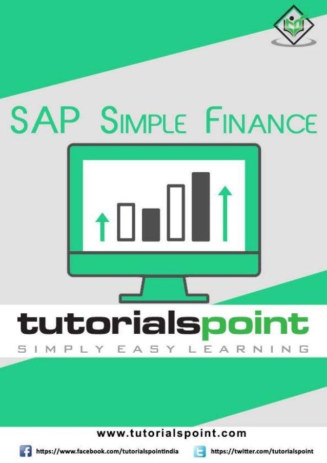 Sap simple finance_tutorial Anilkumar chowdary
