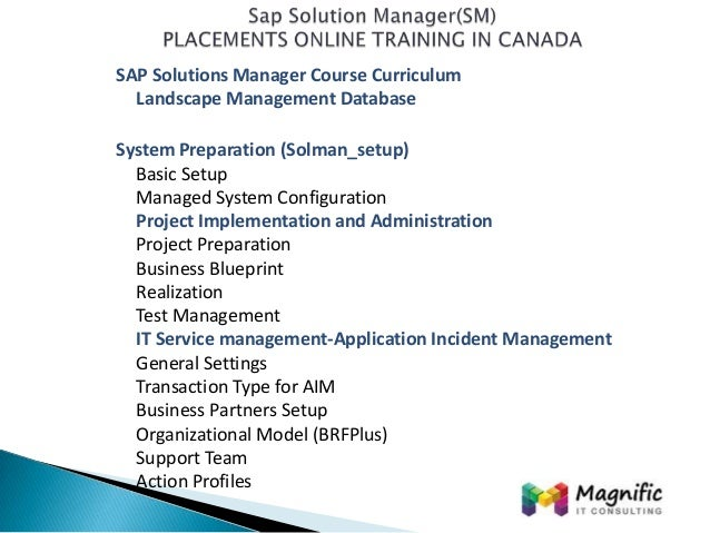 Sap solution managersmplacements online training in canadamagnific sap solution managersmplacements online training in canadamagnifictraining malvernweather Choice Image