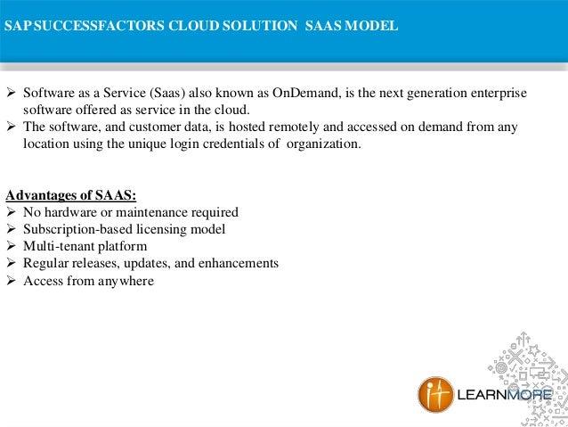 SAP Success Factors Online Training Slide 3
