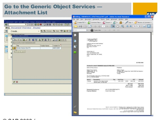 Use the SAP Content Server for Your Document Imaging and Archiving Ne…