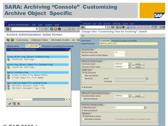 Pdf File From Archive To Sap Application Server