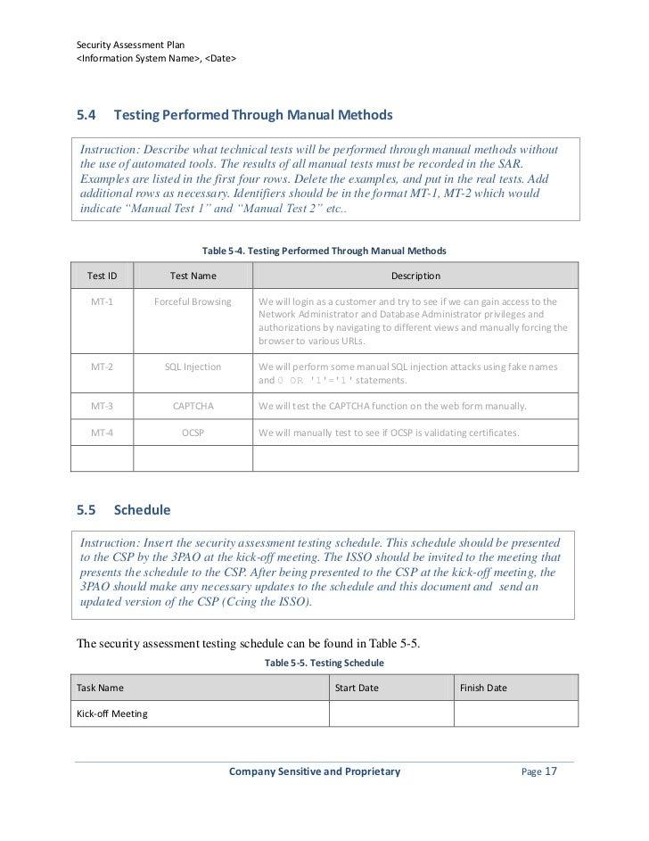 Sap template 050312 – Security Manual Template