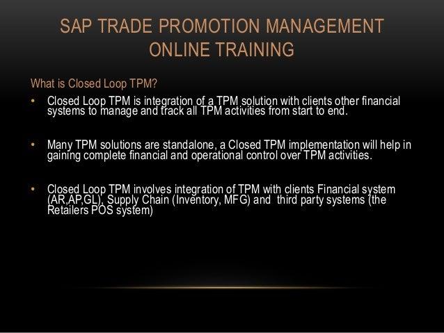 Sap Tpm Online Training In Bangalore