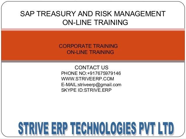 sap treasury and risk management training configuration materials and rh slideshare net Order to Cash Process SAP SAP TRM