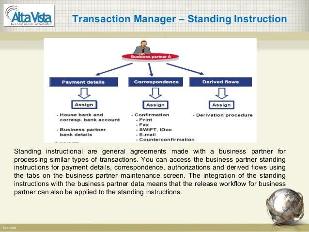 Sap Treasury Configuration And End User Manual
