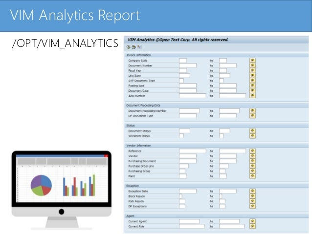 Sap vendor invoice management reporting final