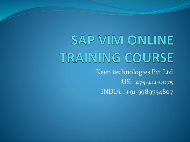 Keen technologies Pvt Ltd US: 475-212-0075 INDIA : +91 9989754807