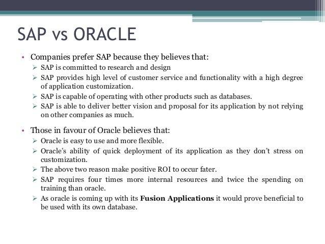 Erp Project Oracle vs Asap