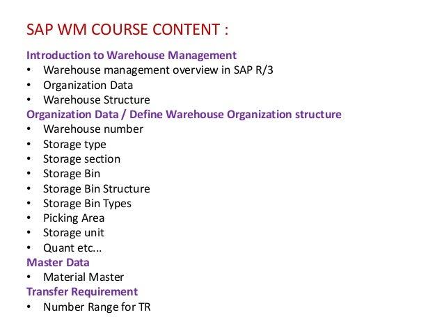 Warehouse management training classes, leadership ppt