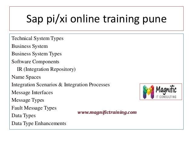 Sap Pi Xi Online Training Classes Tutorial Free Server