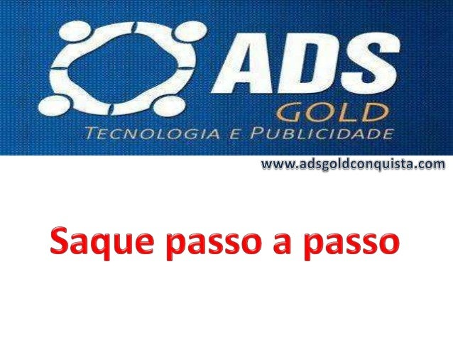 SAQUE PASSO A PASSO