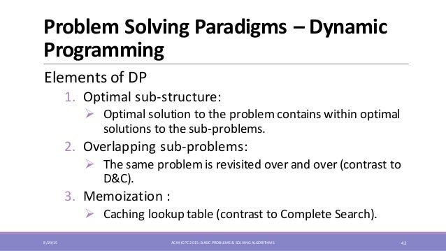 complete programming problems 1 and 2
