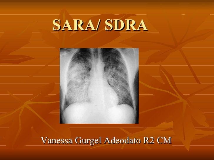 SARA/ SDRA Vanessa Gurgel Adeodato R2 CM
