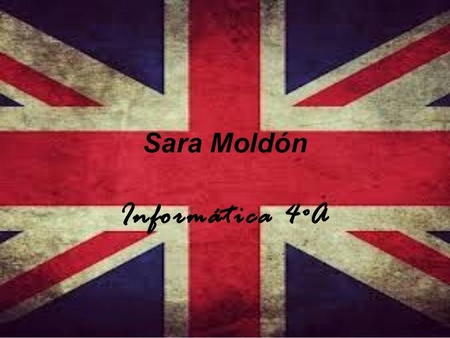 Sara Moldón  Informática 4ºA