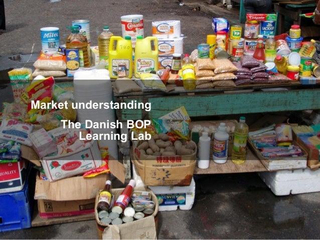 BOP Learning Lab Denmark June 17 Market understanding The Danish BOP Learning Lab