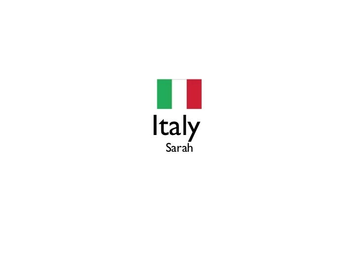 Italy Sarah