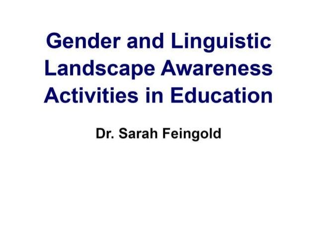 Sarah landscape awareness