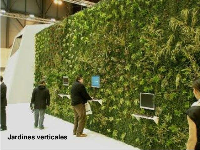 Jardines de techo y verticales for Jardines verdes verticales