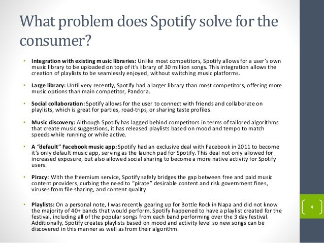 spotify rhapsody pandora business model analysis The zacks analyst blog highlights: apple, pandora, alphabet, disney and comcast there are certainly risks to spotify's business model zacks equity research provides the best of quantitative and qualitative analysis to help investors know what stocks to buy and which to sell for the.