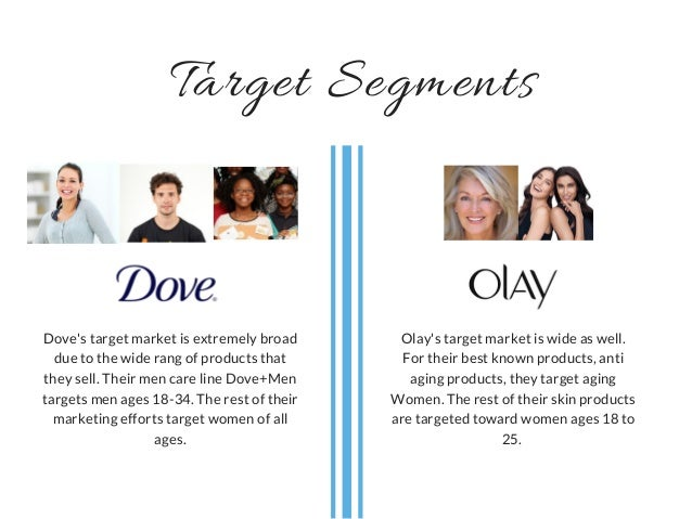 olay market segmentation View notes - l3_stp(1) from rsm 250 at university of toronto market segmentation, target market selection, and positioning professor ryan webb detergent brands what do they have in common.