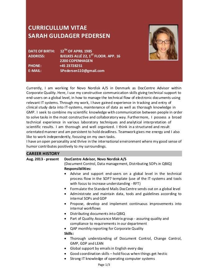 sarah u0026 39 s resume 2016