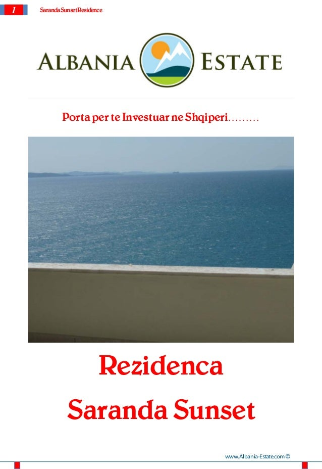 1 SarandaSunsetResidencePorta per te Investuar ne Shqiperi………RezidencaSaranda Sunsetwww.Albania-Estate.com©
