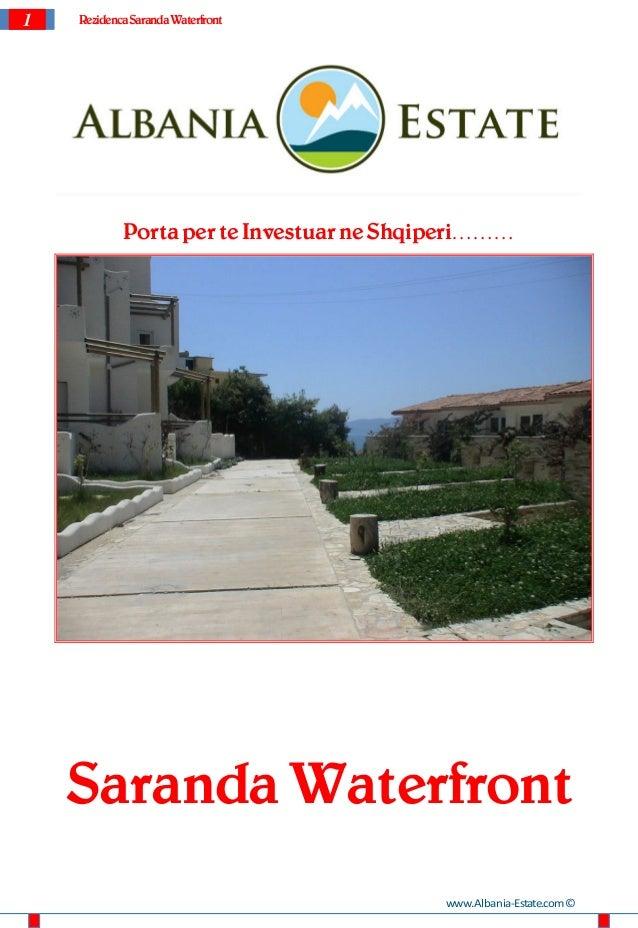 1   Rezidenca Saranda Waterfront            Porta per te Investuar ne Shqiperi………    Saranda Waterfront                   ...