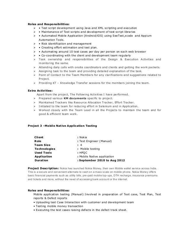 Saranya resume