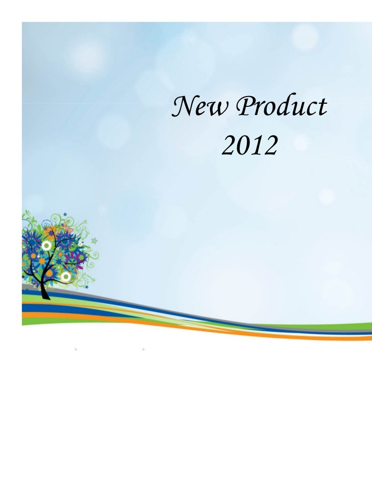 New Product   2012