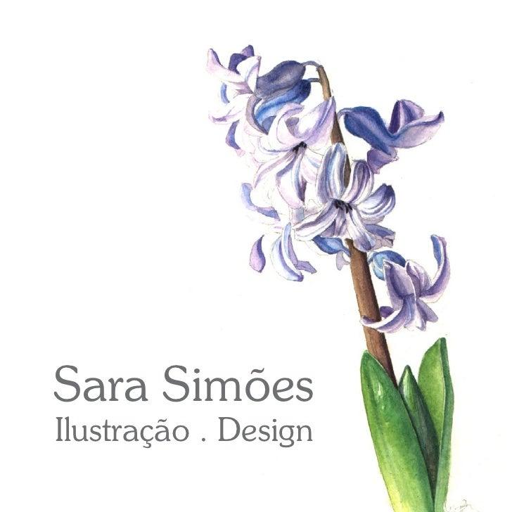 Sara Simões Ilustração . Design