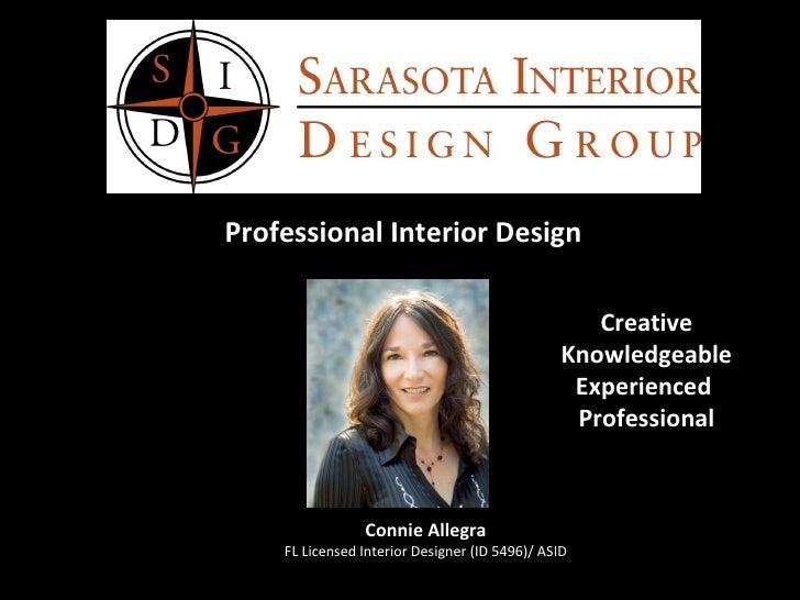 Sarasota Interior Design Group Slideshow