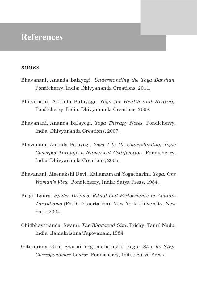 Dissertation abstracts international energy yoga