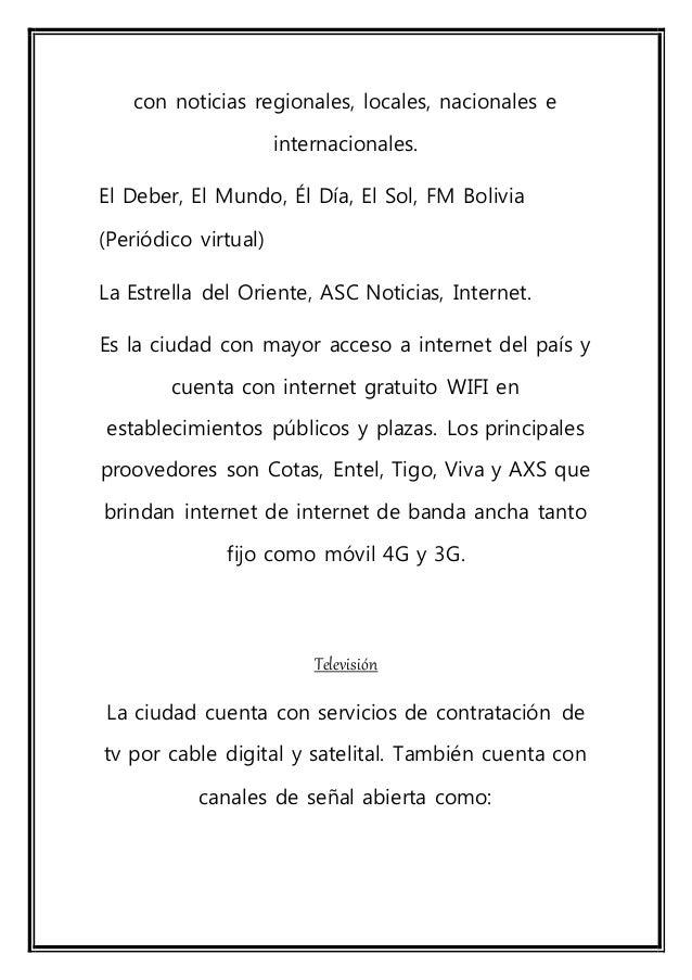 red uno bolivia santa cruz online dating Católico, portal católico, portal católico más grande y completo de la red portal de portales fiel al magisterio y al papa noticias y doctrina de la iglesia.