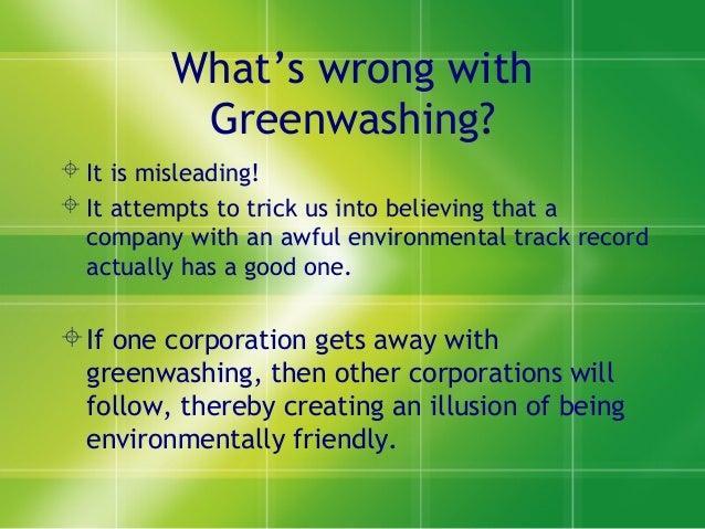 Sarath greenwashing