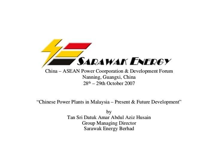 China – ASEAN Power Coorporation & Development Forum                  Nanning, Guangxi, China                   28th – 29t...