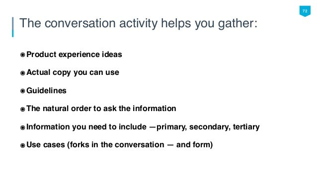 Designing the Conversation: Why Your Online Forms Are Important Too